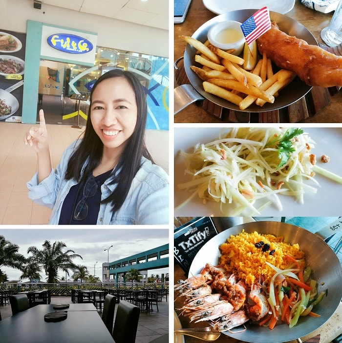 Dining at Fish & Co. Seafood