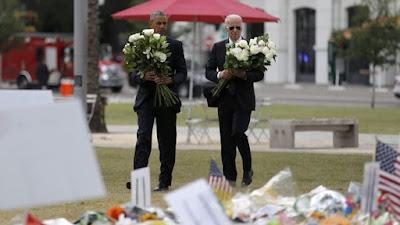 Obama Mengunjungi Korban Penembakan Orlando