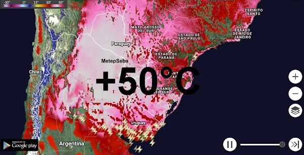 URGENTE: ola de calor extrema en Sudamérica.
