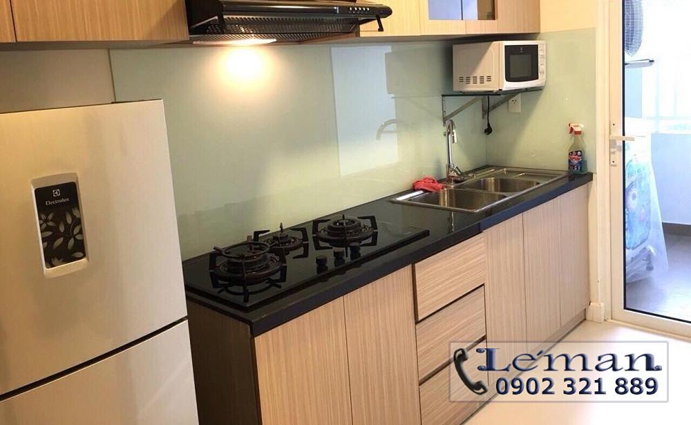 Cho thuê căn hộ Leman 2PN - khu bếp