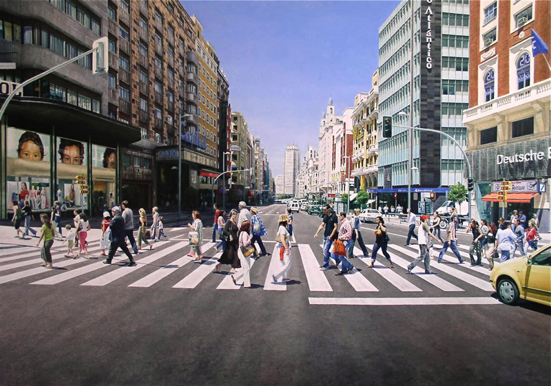 06-Christian-Pignol-Chaotic-Urban-Life-Captured-in-Paintings-www-designstack-co