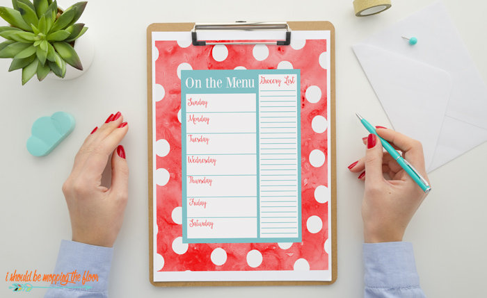 Organizing Printables