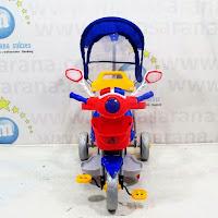 family police sepeda roda tiga anak