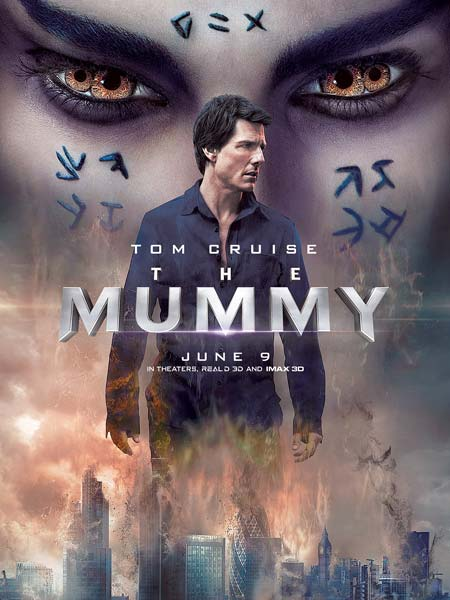 The Mummy 2017 Dual Audio HDRip 480p 350MB Poster