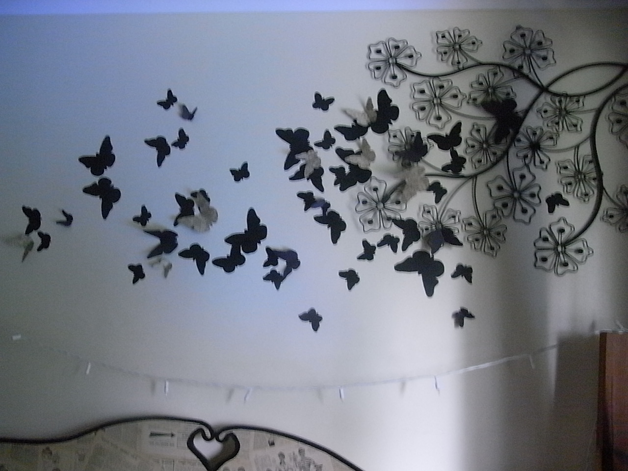 Butterfly Wall Stencils Painting Butterfly Designs For Walls