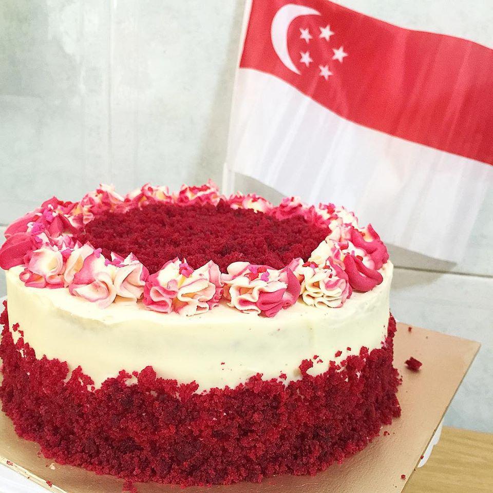 Sherbakes SG50 Red Velvet Cake