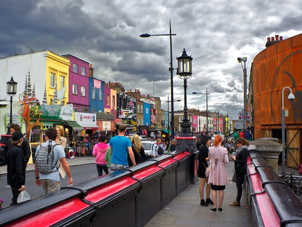Camden Town em Londres | Inglaterra