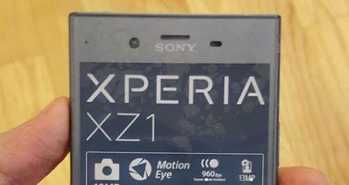 INIKAH WUJUD DARI SONY XPERIA XZ1