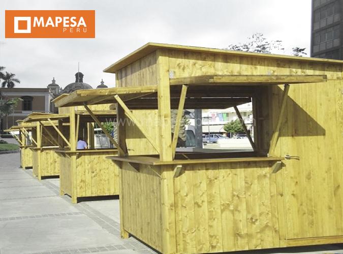 mapesa peru sac kioscos prefabricados de madera