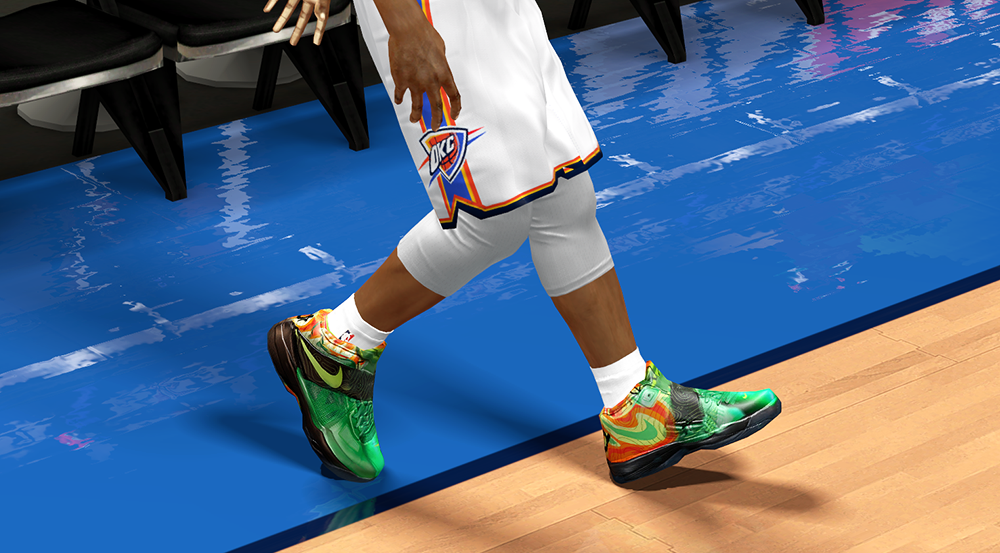 KD IV Weather Shoes | NBA 2K14 Patch