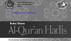 Download Buku Siswa Al-Qur'an Hadist Kelas 10  Kurikulum 2013 Revisi 2018 Pdf