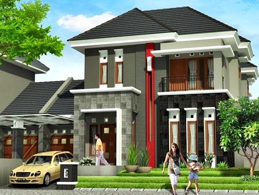 Gambar Desain Rumah Minimalis 2 Lantai Trend 2016