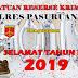 Kasat Reskrim Polresta Pasuruan AKP. Slamet Santoso, SH, MH Ucapkan Selamat Tahun Baru 2019
