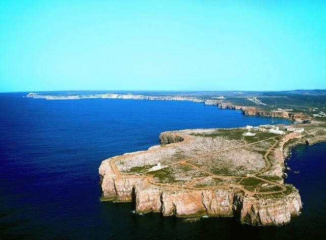 Vila de Sagres no Algarve