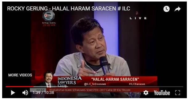 "Rocky Gerung: HOAX Pro Pemerintah Aman, Kini HOAX di Dotrin Dikerdiklan Artinya ""Kebencian kepada pemerintah"""