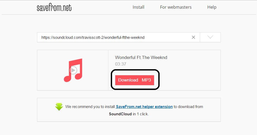 cara download lagu dari tampilan baru soundcloud