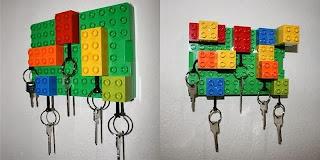Lego Oyuncaklardan Anahtarlık Yapımı