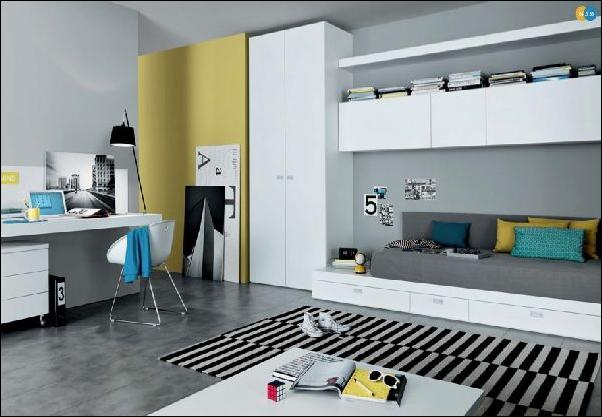 Cool Modern Teen Girl Bedrooms