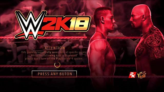 تحميل لعبة المصارعة الحرة wwe 2k18 كاملة للكمبيوتر برابط مباشر ميديا فاير