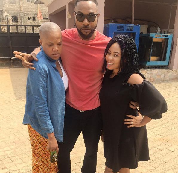 Toyin Abraham goes bald for movie role