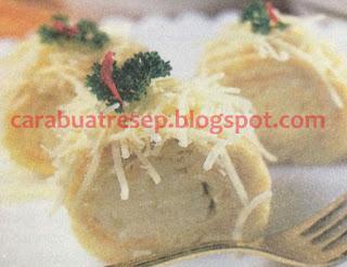 Foto Resep Kue Sus Basah Gulung Vla Keju