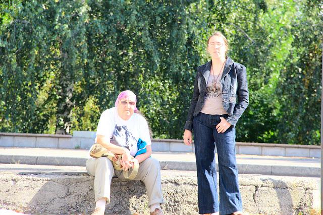 Писатель Ганова Людмила с дочерью поэтом Кет Ган (Цурикова Екатерина)
