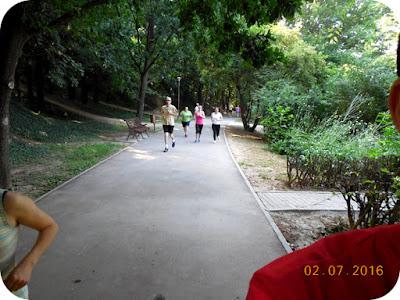 alergare in Gradina Botanica