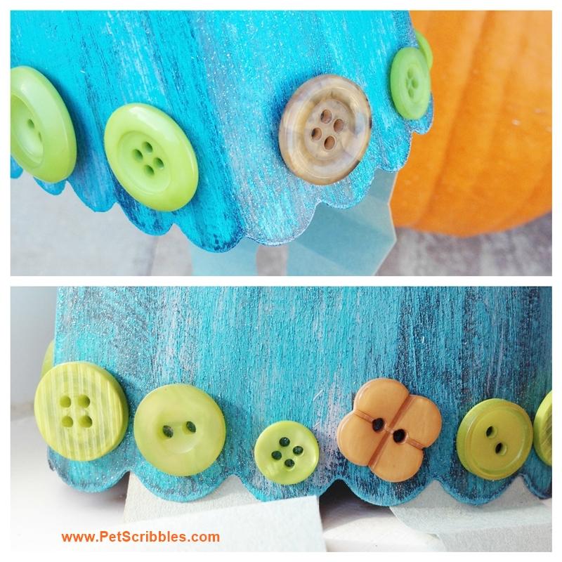 A Friendly Popcorn Box Monster craft, part of the Halloween Popcorn Box Blog Hop!