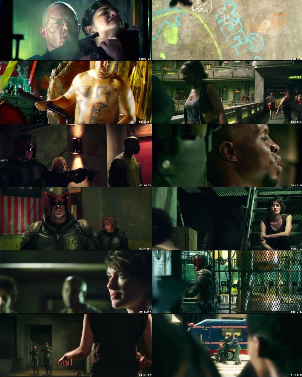Dredd 2012 BRRip 1080p Dual Audio In Hindi English
