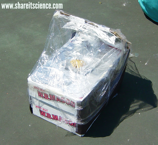 DIY solar oven engineering challenge