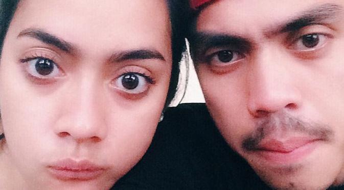 Foto Ayudia Bing Slamet dan Suami