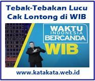 Tebak Tebakan Lucu ala Cak Lontong di WIB Tebak-Tebakan Lucu ala Cak Lontong di WIB