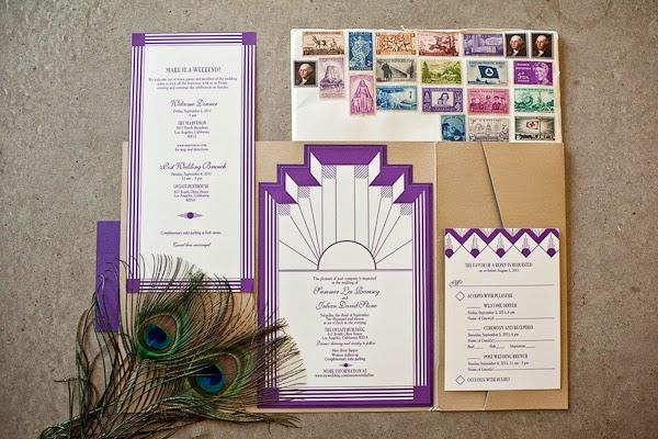 Thiệp cưới dạng Postcard lạ lẫm bắt mắt 9