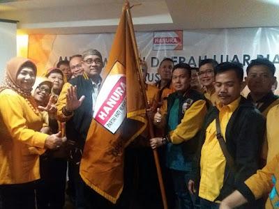 Benny Uzer Terpilih Secara Aklamasi Menjadi Ketua DPD Hanura Lampung Melalui Musdalub Kubu OSO
