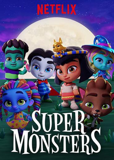 Super Monsters (2017-) ταινιες online seires xrysoi greek subs