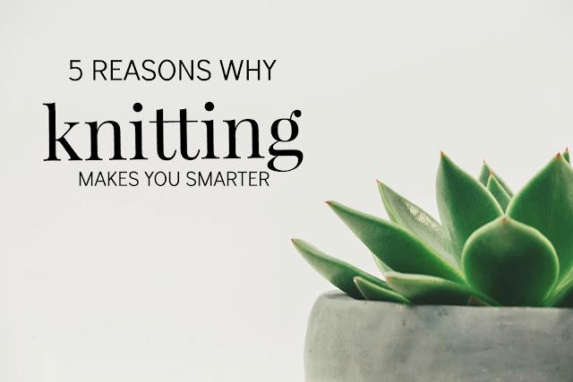knitting makes you smarter