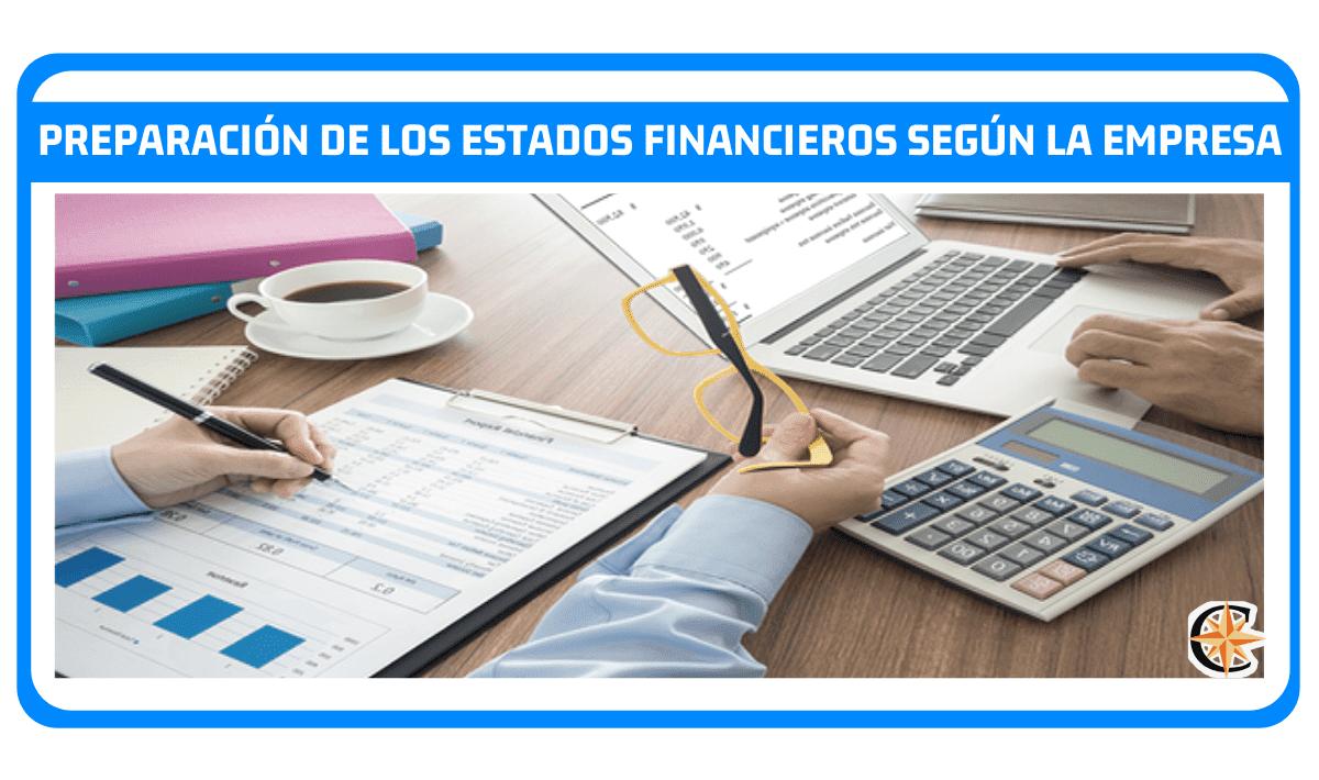 preparacion de estados financieros definicion