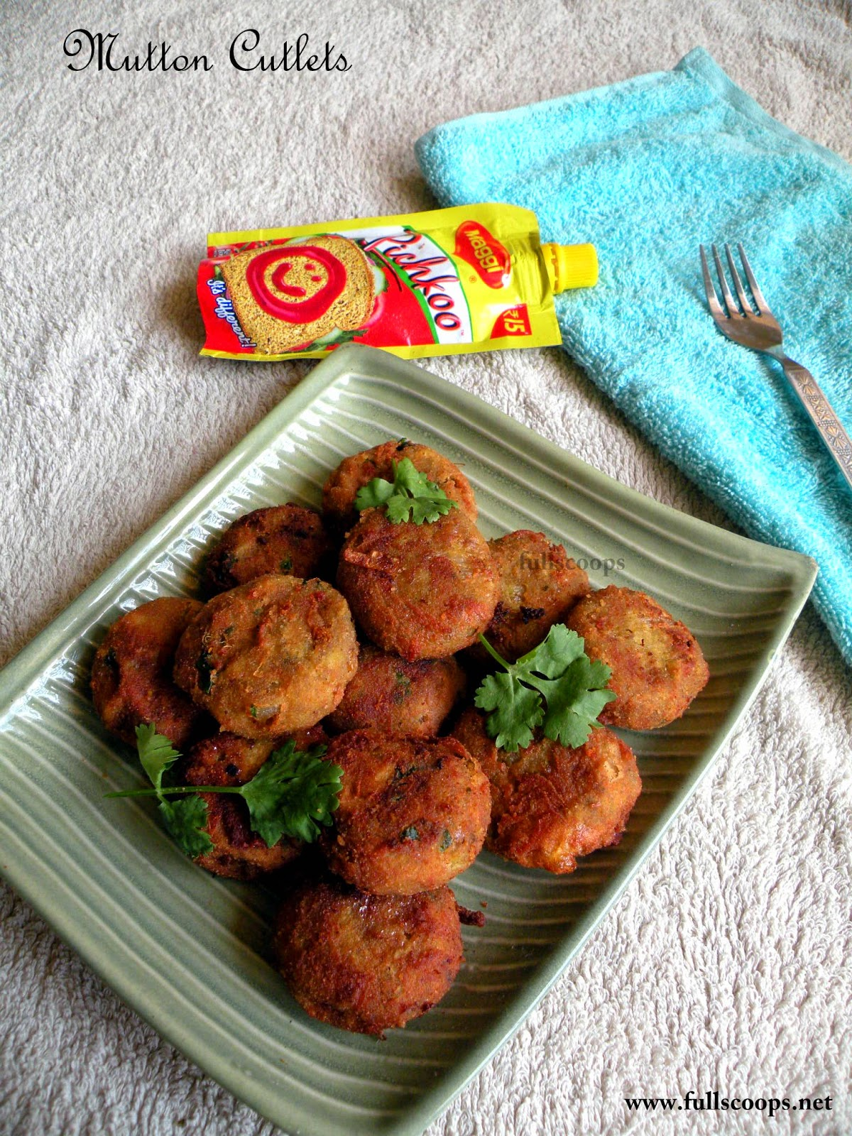 Mutton Cutlets / Lamb Patties
