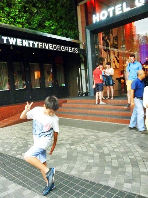 バンコク旅 プルマンバンコクホテルG Pullman Bangkok Hotel G entrance