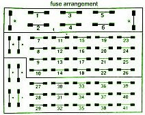 fuse box diagram mercedes benz 300se 1991 mercedes fuse. Black Bedroom Furniture Sets. Home Design Ideas