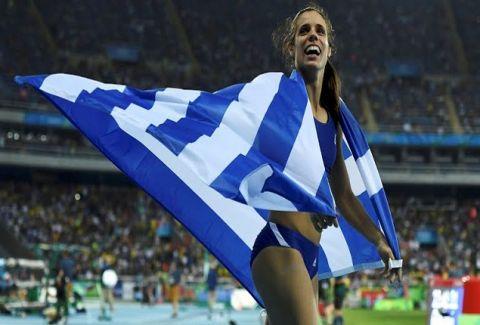 """Θράσος: Η κυβέρνηση την """"λέει"""" στην Χρυσή Ολυμπιονίκη, Κατερίνα Στεφανίδη!"""