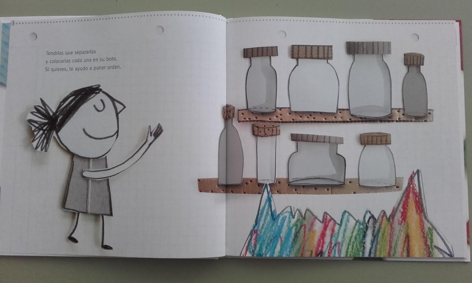 Coleccionando cuentos: El Monstruo de Colores