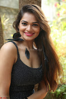 Aswini in lovely Deep Neck Sleeveless Black Dress Spicy Pics ~  Exclusive 13.JPG