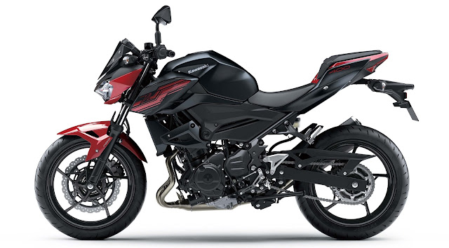 All New Kawasaki Z250 2019 merah