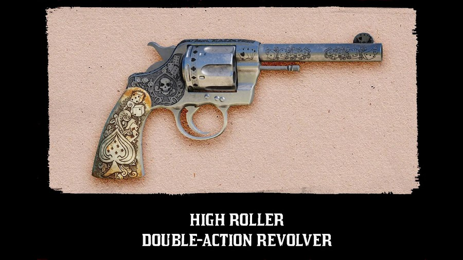 red dead online beta high roller double action revolver
