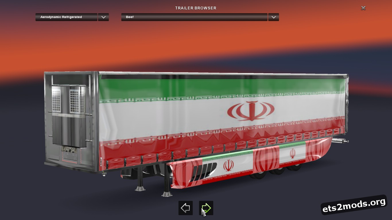 Iranian Aerodynamic Trailer
