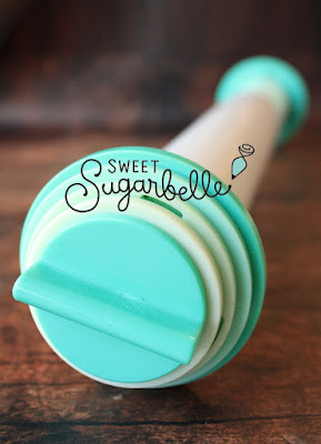 Sweet Sugarbelle rolling pin for making decorated sugar cookies