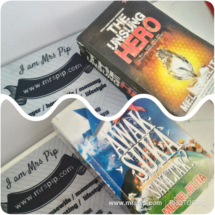 "Beli preloved novel murah ""Awak Suka Saya Tak"" dan ""The Unsung Hero"" karya Melur Jelita"