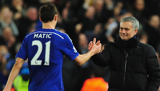 Mourinho Sebut Matic Ingin Gabung MU