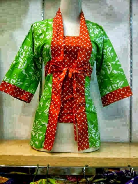 Model baju batik cina cewek terbaru